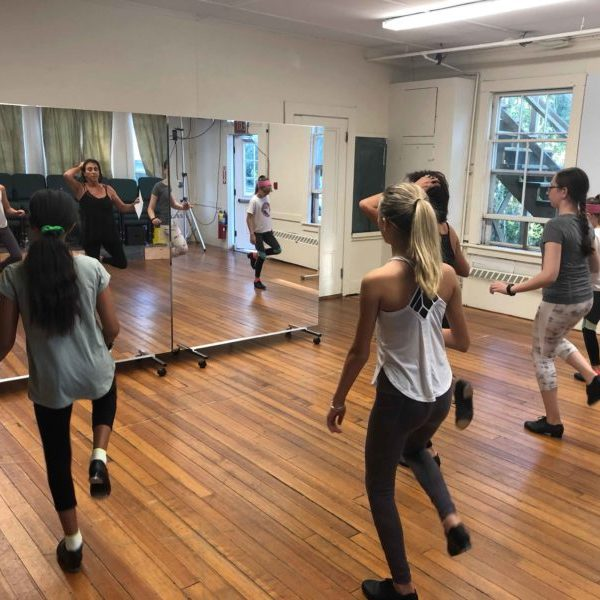 Harwich Junior Theatre Hip Hop class for kids